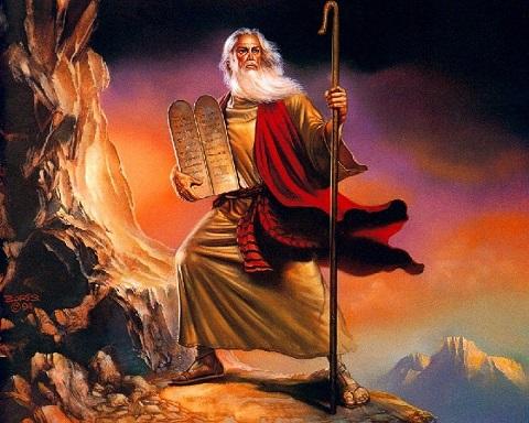 The Ten Commandments: Like a Coronavirus Test in Kali Yuga